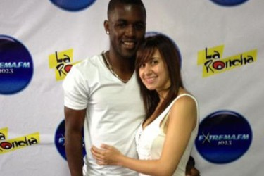 Joel Campbell's Girlfriend Maria Cascante - PlayerWives.com Joel Campbell Dive