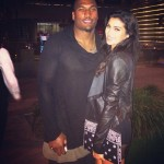 Larry English's girlfriend Nicole Williams - Instagram