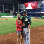 Tommy Milone's wife Tina Milone - Twitter