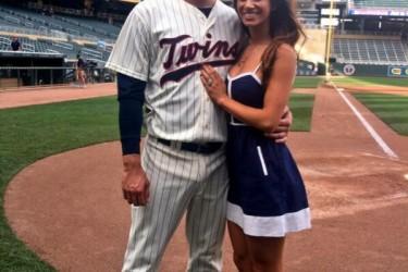 Trevor Plouffe's wife Olivia Plouffe - Twitter