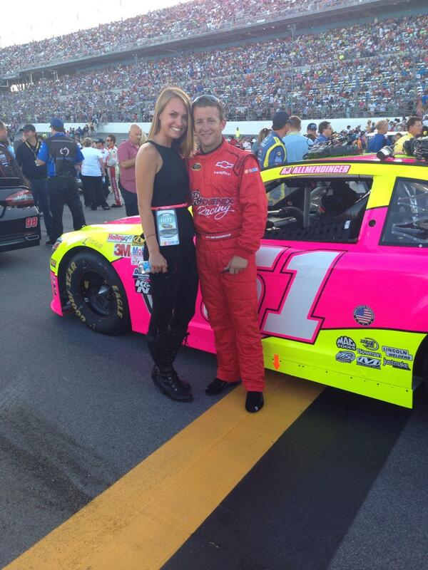 AJ Allmendinger's Ex-Wife Lynne Kushnirenko and Girlfriend Tara Meador