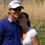 Bernd Wiesberger's girlfriend Claudia - burgenland.orf.au