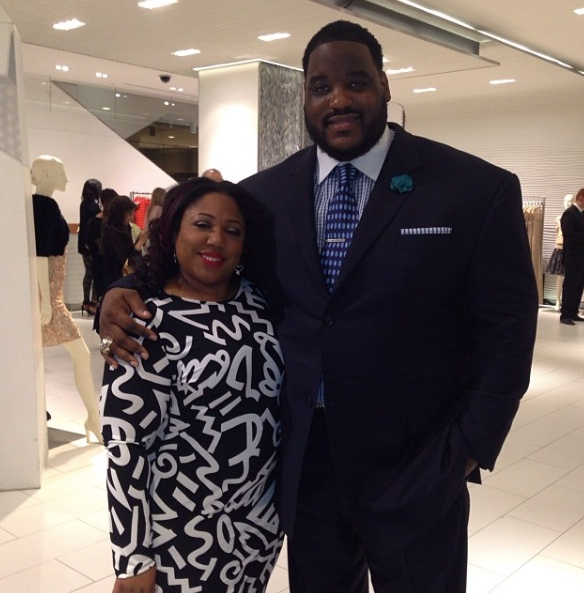 Damien Woody's Wife Nicole Woody