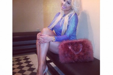 Floyd Mayweather's girlfriend Doralie Medina - Instagram