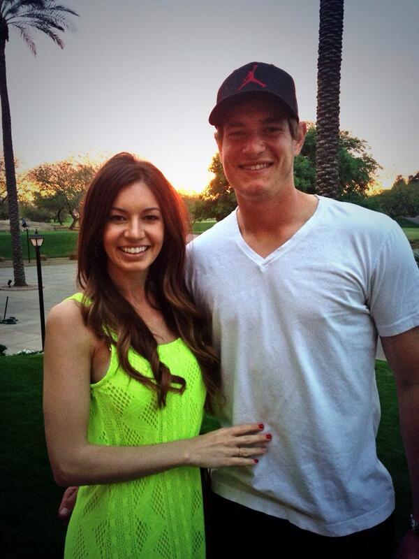 Garrett Richards Girlfriend Alexis Arnoldi Playerwives Com