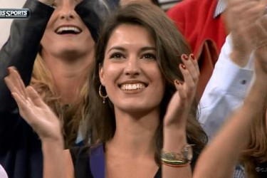 Marin Cilic's Girlfriend Kristina Milkovic - CBS