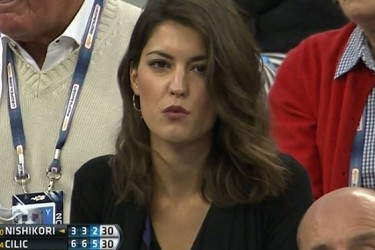 Marin Cilic's Girlfriend Kristina Milkovic - CBS