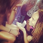 Brittney Griner's Girlfriend Glory Johnson - Instagram