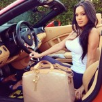 Charlie Villanueva's Girlfriend Michelle Game - Instagram