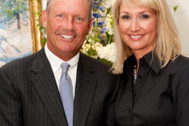 George Brett's wife Leslie Brett