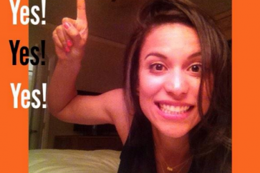 Hunter Pence's girlfriend Lexi Cozombolidis - Twitter