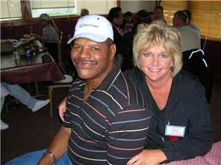 Leon Spinks' wife Brenda Spinks - Hawktime.com