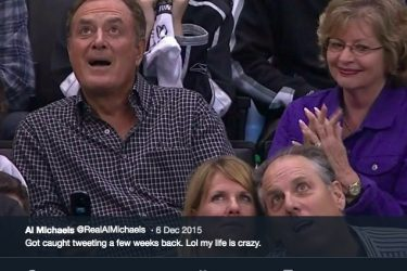 Al Michaels wife Linda Michaels - Twitter