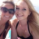 Demaryius Thomas' girlfriend Brittany Lohberg - Facebook
