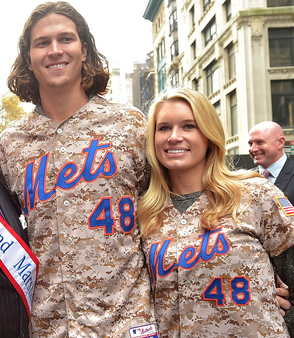 Jacob deGrom's Wife Stacey Harris