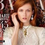 Jakub Petruzalek's Girlfriend Katerina Netolicka - Harper's Bazar