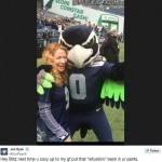 Jon Ryan's girlfriend Sarah Colonna