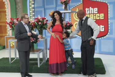 Kenny Smith's Wife Gwendolyn Osborne Smith - Price Is Right
