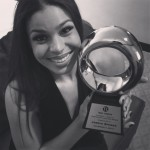 Leveon Bell's girlfriend Jordin Sparks - Instagram