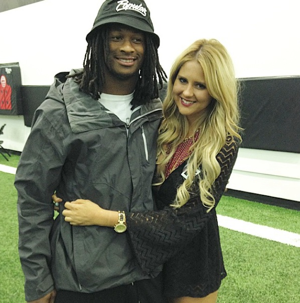 Todd Gurley's Girlfriend Olivia Davison?