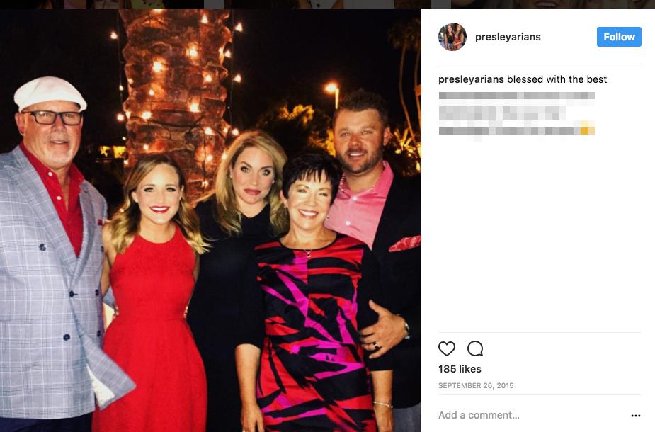 Bruce Arians' wife Christine Arians