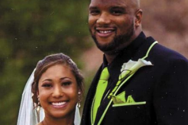 Alan Branch's wife Ashley Branch - TheKnot.com