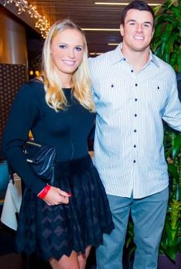 Ryan Kerrigan's girlfriend Caroline Wozniacki - Twitter