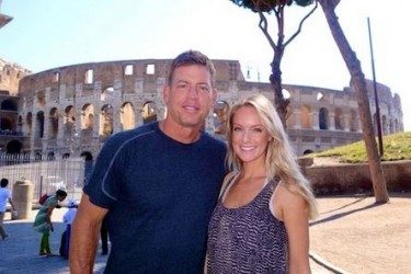 Troy Aikman's girlfriend Tracy Ripsin -