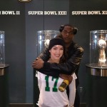 Davanta Adams' girlfriend Devanne Villarreal - Instagram