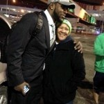 Kam Chancellor and Mom Karen Lambert