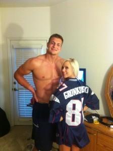 Rob Gronkowski's girlfriend Bibi Jones