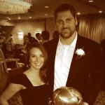 Sebastian Vollmer's girlfriend Lindsay Force - Twitter