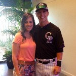 Corey Dickerson's wife Beth Anne Dickerson - Facebook