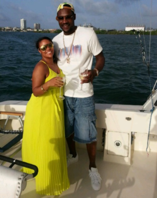 Tony Allen's Wife Desiree Allen