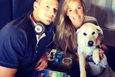 Drew Smyly's girlfriend Eryn Blatt - Twitter