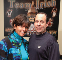 Mike Brey's wife Tish Brey - GWU.edu