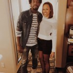 Patrick Beverley's girlfriend Amber - Instagram