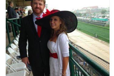 JB Holmes wife Sara Holmes - Twitter
