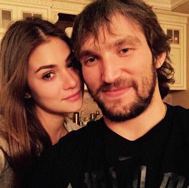 Alex Ovechkin's Wife Nastya Shubskaya
