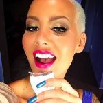 "James Harden's ""girlfriend"" Amber Rose - Instagram"