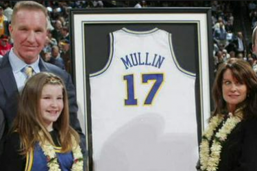 Chris Mullin's wife Liz Mullin