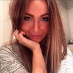 Jesper Fast's girlfriend Amanda Lindberg