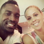 Martell Webster's wife Courtney Webster