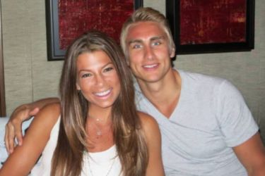 Valtteri Filppula's girlfriend Jordan Falcusan