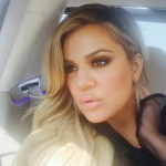 James Harden's girlfriend Khloe Kardashian