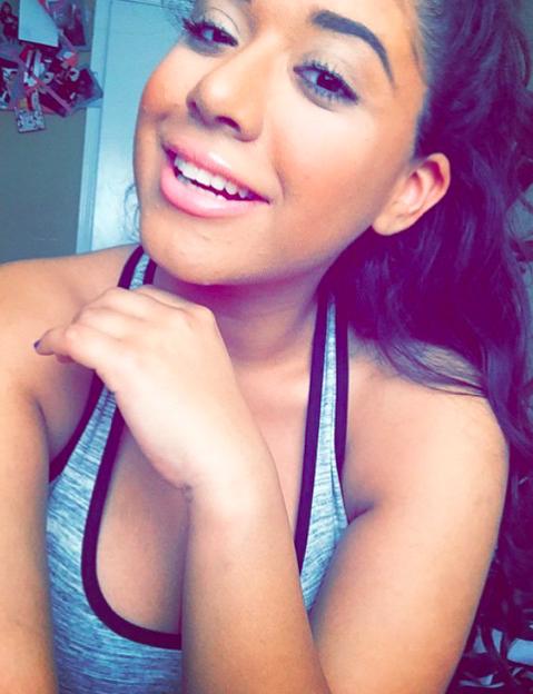 Myles Turner's girlfriend Franchesca