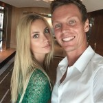 Thomas Berdych's girlfriend Ester Satorova