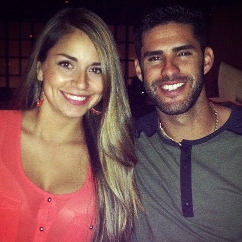 JD Martinez's girlfriend Ariana Aubert
