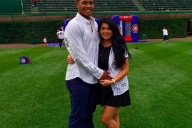 Addison Russell's girlfriend Melissa Reidy