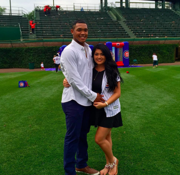 Addison Russell's wife Melisa Reidy-Russell
